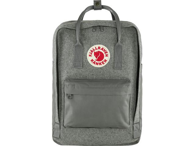 "Fjällräven Kånken Re-Wool Laptop Backpack 15"", granite grey"